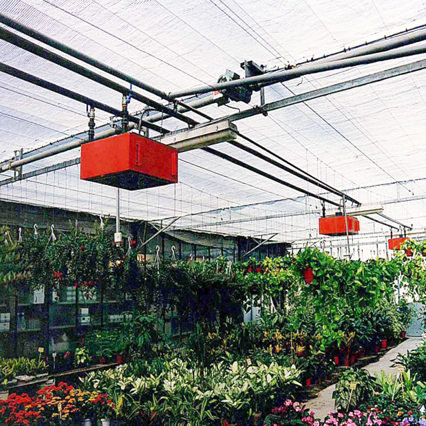 Auto Multispan Greenhouse Heating System From China