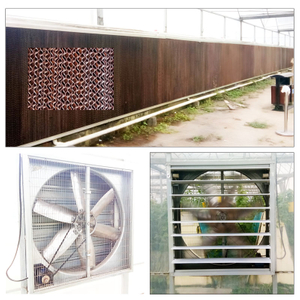 Air Cooling Pad System for Green House