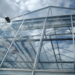 Greenhouse Plastic Film / Polycarbonate / Glass for Covering Materials