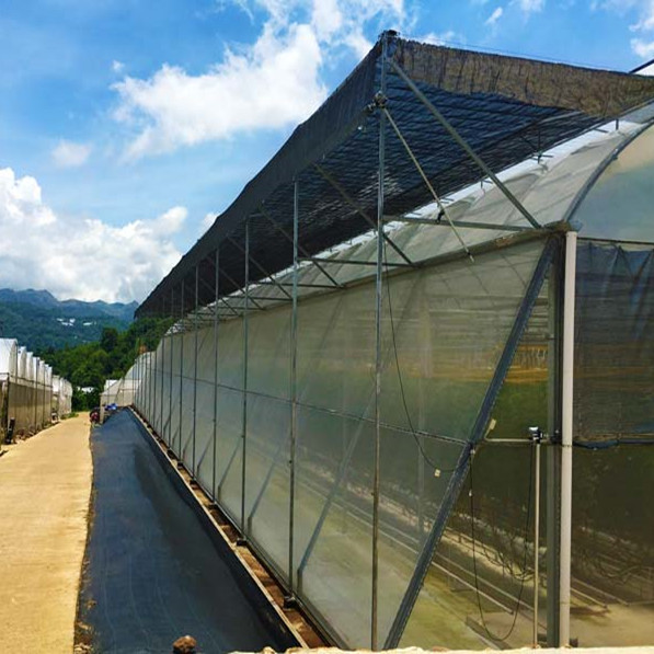 External Sun-Shading System for Building Greenhouse Plants
