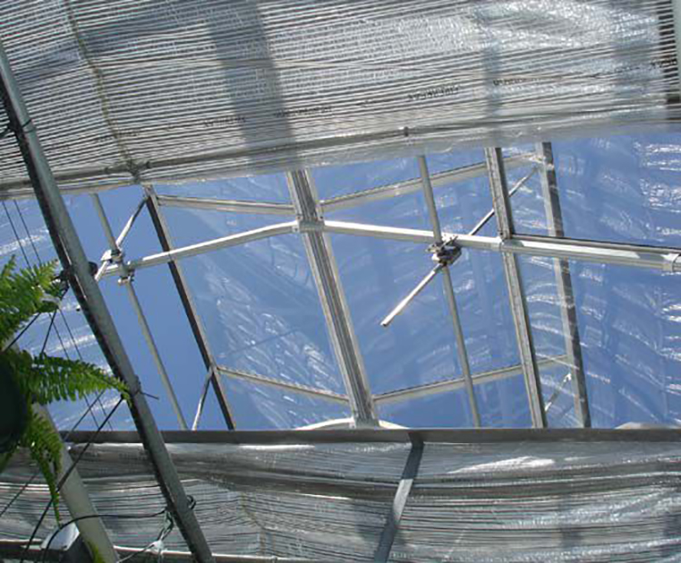 Greenhouse Inside Shading System for Cooling Down